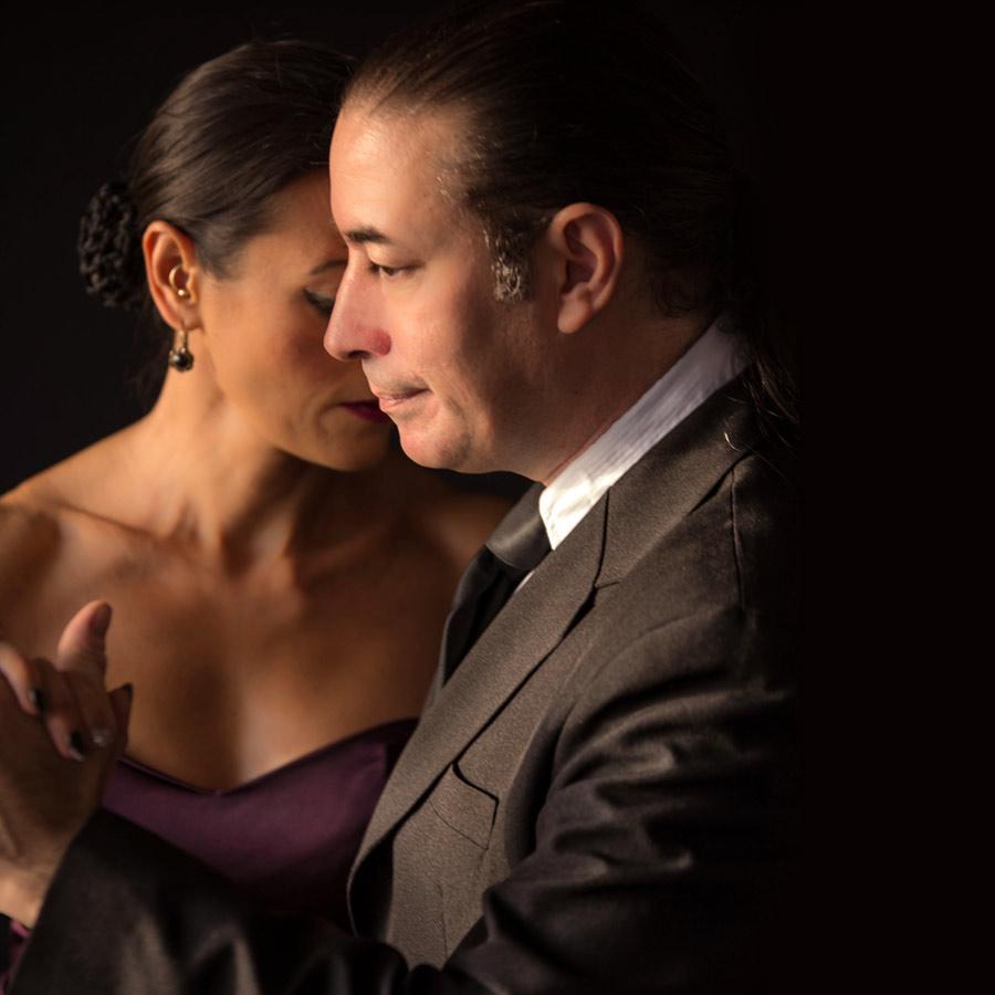 Samira Ashraf and Luis Rodriguez