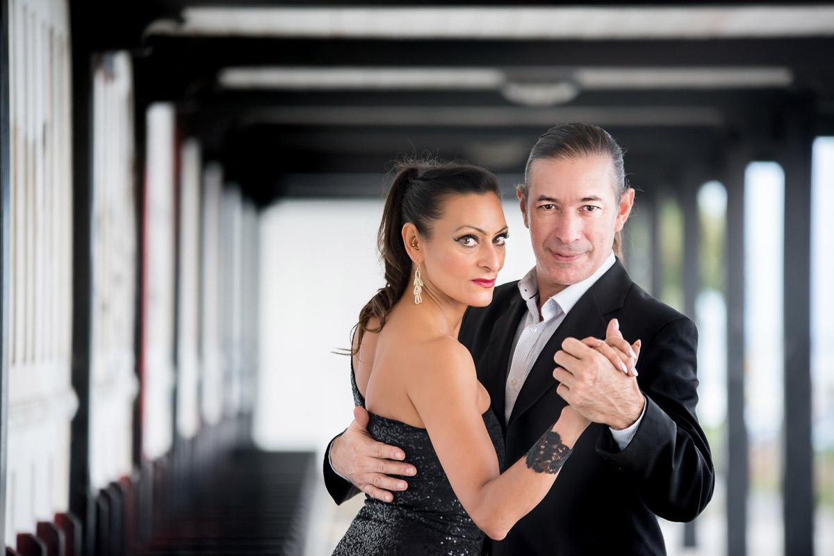 Argentine Tango with Samira Ashraf and Luis Rodriguez in Leigh-On-Sea